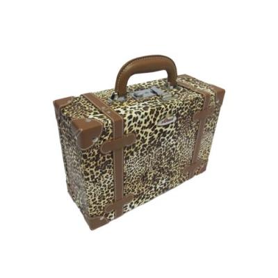 leopard beauty case 2  large