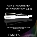Hair Straightener with Ozon + Ion L